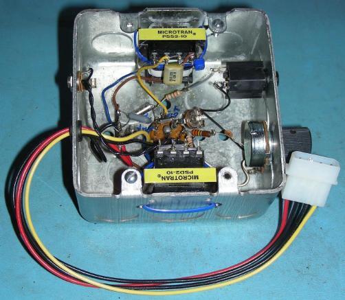 The W0RIO 6U8A Code Practice Oscillator