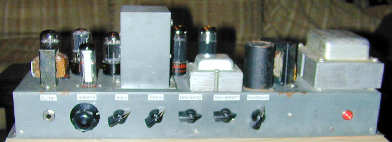 Hammonator Organ to Guitar Amp Conversion on