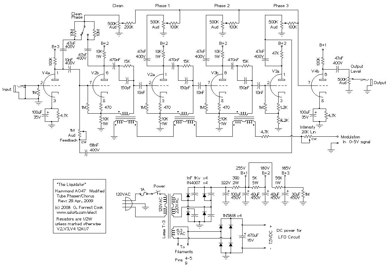 Liquidator Tube Phaser/Chorus Effect