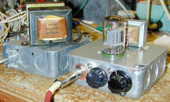 The squirrel monkey one tube guitar amp compactron amplifier circuit