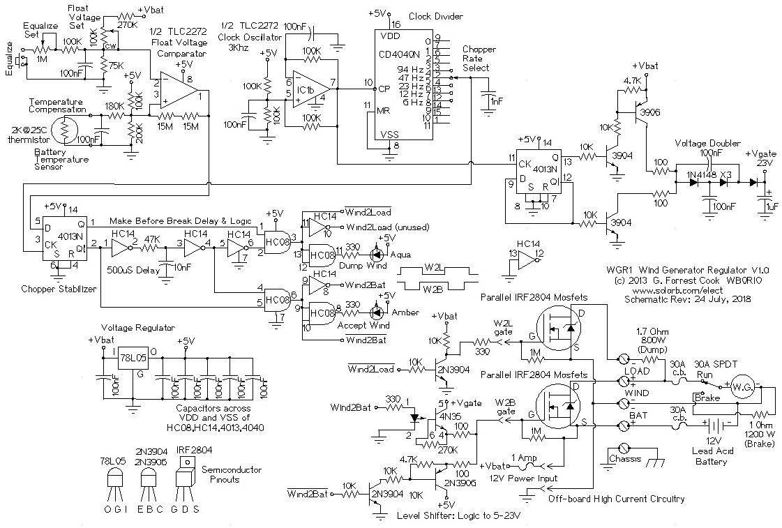 windgenreg1 wgr1 12 volt wind generator regulator 12 volt generator wiring diagram at edmiracle.co