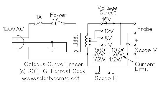curve tracer circuit index listing of wiring diagrams