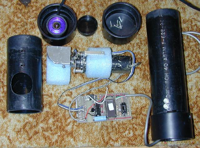 Motorized Video Camera Mount Automobile And Electronic
